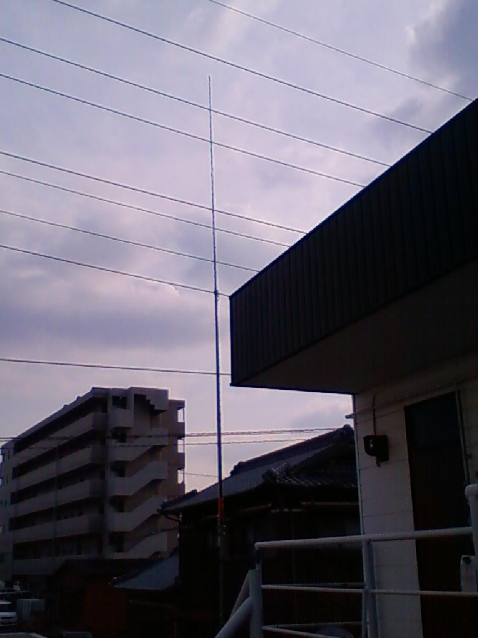 無線のアンテナ